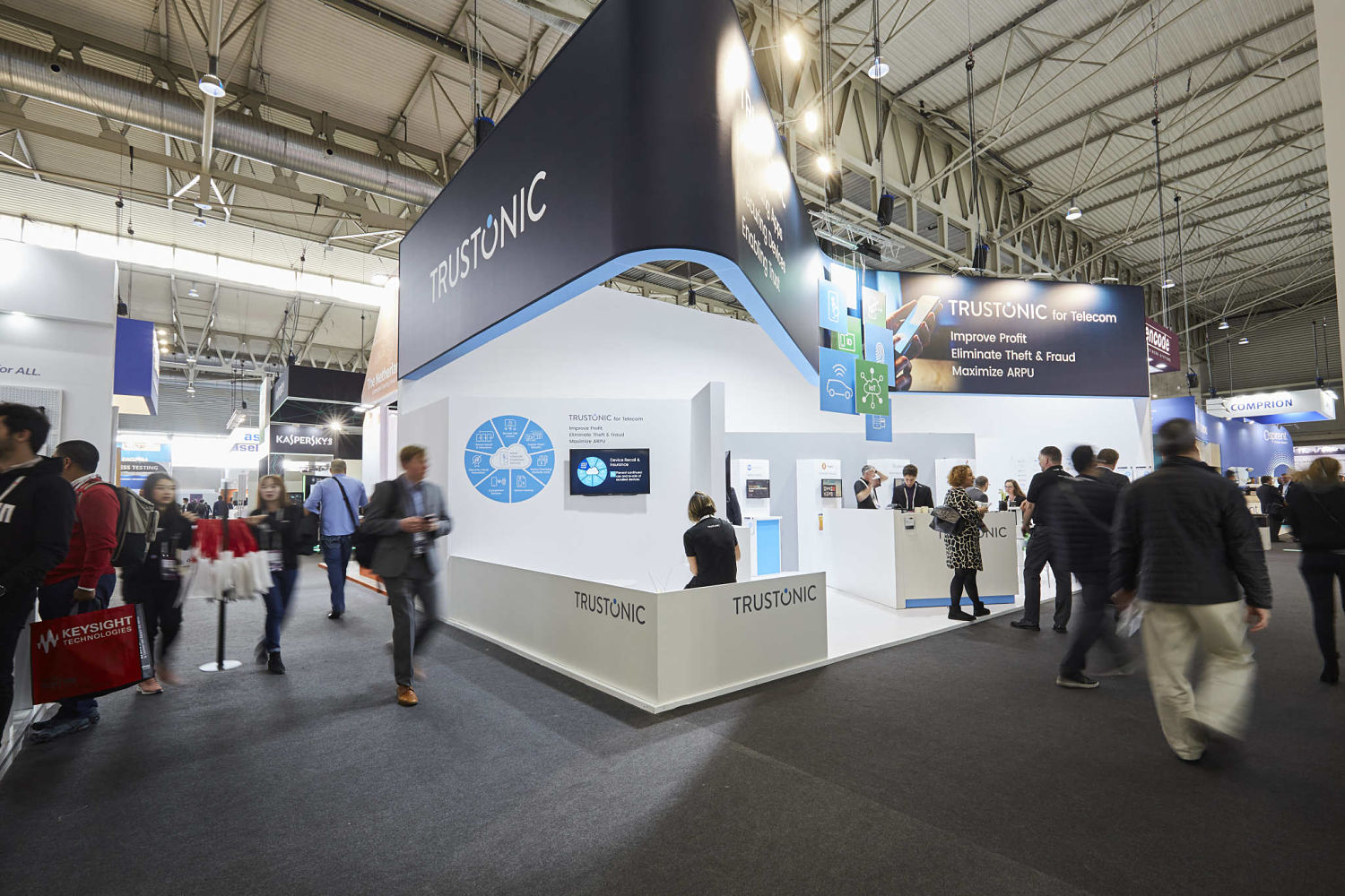 Stand Trustonic - MWC 2019